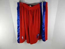 Detroit Pistons Chauncey Billups #1 Game Used Red Shorts