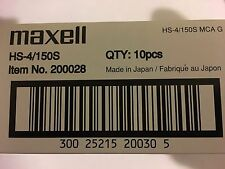 Maxell DDS-4 Data Tape Cartridge 20GB/40GB P/N:200028 NEW factory sealed 10pack
