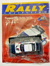 PEUGEOT  205 T16 EVO 1986 1:43 - RALLY COLLECTION 1/43