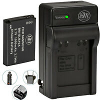 BM SLB-10A Battery & Charger for Samsung WB150F WB200 WB250F WB500 WB550 WB750