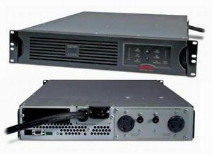 APC SUA3000RMT2U SMART-UPS 3000VA 208V 2700W USB BATTERY POWER BACKUP L6-30/20