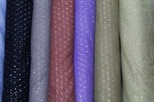 Gold Sequin Sparkly Curtain Fabric Dancing Party Costume Material Sold by Metre