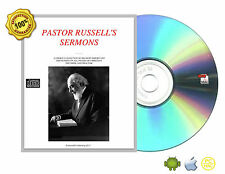 Charles Taze Russell 'S SERMONS-CHRISTIAN DOCTRINE PRACTISE DISCOURSE eBookCDROM