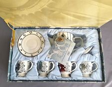 NEW DISNEY ALICE THROUGH THE LOOKING GLASS LIMITED EDITION Fine China TEA SET