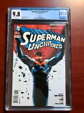 SUPERMAN UNCHAINED #7 JOCK VARIANT COVER ~ CGC 9.8