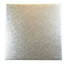 """Culpitt Cut-Edge Boards 8"""" inch Square Cake Decorating Support Card 1.8mm X 25"""