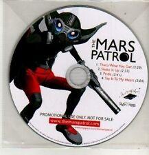(CM800) The Mars Patrol, Thats What You Get - 2010 DJ CD