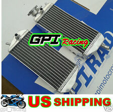 Aluminum Radiators Gas Gas MX/SM/EC 200/250/300 2007-2013 08 09 07 2010 2011 12