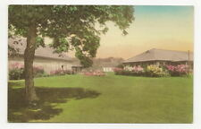 HENDERSON HARBOR NY Association Island Vtg Hand Colored