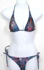 Womens Swim Suit LAGUNA BEACH Bikini Swarovski Crystals New Sz Sm MSRP $299