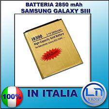 Batteria Gold GALAXY S3 MAGGIORATA 2850mAH - Più durata rispetto l'originale