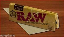 1 librito x 64 PAPEL DE FUMAR RAW NATURAL,Classic 1 1/4, GROW, librillos