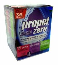 Propel Zero Calorie Nutrient Enhanced Water Beverage Mix Variety Pack 36 Packets