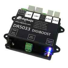 DIGIKEIJS DR5033 BOOSTER - WORKS WITH DIGITRAX, NCE, MRC, ROCO, LENZ, ETC