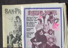 1971 ROLLING STONE THE BEACH BOYS WITH RARE SUPPLEMENT- ISSUE # 94 OCT 28,1971