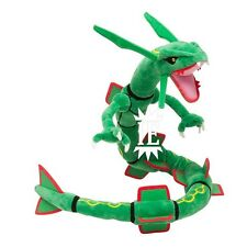 POKEMON RAYQUAZA PELUCHE 80 CM pantin plush doll 384 leggendario x y dragon big