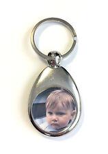 Schlüsselanhänger mit Foto Farbe Einkaufschip Geburstag Geschenk
