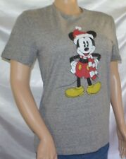 NWT Disney MICKEY MOUSE Holiday Christmas Tee Shirt size S small