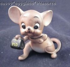 "Josef Originals ""Md"" Dr. Doctor Mouse Figurine"