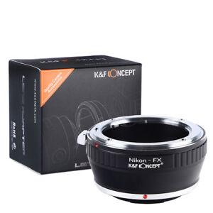 K&F Concept Camera Lens Adapter For Nikon F Mount Lens To Fujifilm X-T1 Xpro1