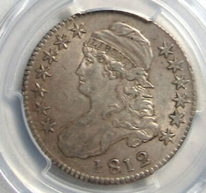 1812 Capped Bust Half Dollar, PGCS AU50 CAC!, Excellent for the grade.