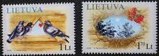 Christmas Greetings FRANCOBOLLI, 2006, Lituania, 2 Set di francobolli, Gomma integra, non linguellato