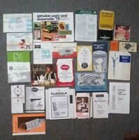 1970's Household Products Paper Ephemera Junk Drawer