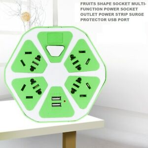 FRUITS SHAPE SOCKET MULTI-FUNCTION POWER SOCKET OUTLET POWER STRIP SURGE PROTECT