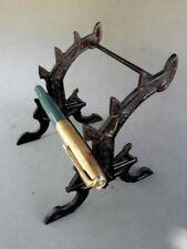 Antique Cast Iron Pen Holder