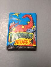 1988 TOPPS -- DINOSAURS ATTACK TRADING CARDS -- UNOPENED PACK
