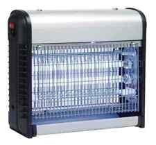 Zanzariera Elettrica Anti Zanzare Mosche 2 Lampade UV LED 4,5W Elettroinsett.