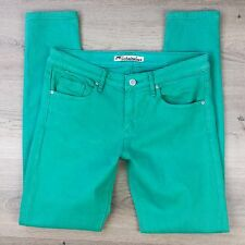 Jag Technicolour Green Slim Leg Stretch Women's Jeans Size 10 W30 L29.5 (WW10)