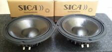 "2 X SICA 8 N 2,5 PL COPPIA - Z005202 - MID Woofer 8"" 500 watt 4 ohm SPL 20 CM"