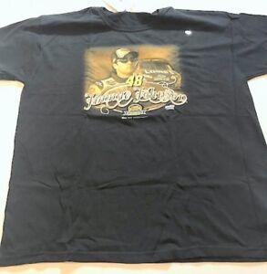 Jimmie Johnson #48 Lowe's  Black 2007 Champion T-Shirt-Size XLarge-CCH7107FX5