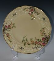 CROWN Ducal ENGLAND Florentine Rosalie BREAD and BUTTER PLATE(s) NICE!