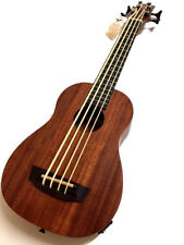NEW GREAT PLAYING CONCERT KELO ELECTRIC UKULELE BASS  WITH A BOOMING TONE