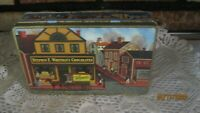 1994 EDITION WHITMAN'S SAMPLER ADVERTISING TIN OLD PHILADELPHIA WATERFRONT SCENE