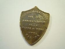 MEDAGLIA - ROMA INTENGIBILE - COMMEMORAZIONE 31 ° ANNO PRESA DI ROMA 1901 (S-O-A