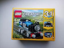 LEGO CREATOR 3 in 1 Set Treno Espresso Blu Nuovo di Zecca 31054
