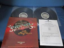 Peter Gabriel Off Record Special 1988 Westwood One Vinyl LP Que Sheet Genesis