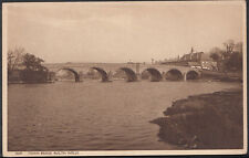 Wales Postcard - Town Bridge, Builth Wells     A2446