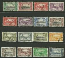 1938-44 Set to £1, Sg 188-200, Fine used. {Imp-328}