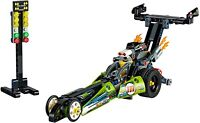 Lego Technics 42103 Dragster Pull Back And Go 2 In 1 Race Car BNIB Free Postage
