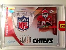 2012 ABSO MEM JONATHAN BALDWIN RC NFL LOGO SHIELD PATCH #D 1/1 BLACK BOX