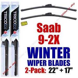 WINTER Wipers 2-Pack Premium Grade - fit 2005-2006 Saab 9-2X  35220/170