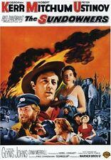 THE SUNDOWNERS (1960 Robert Mitchum)english artwork DVD - UK Compatible -Sealed
