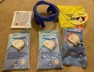 Tommee Tippee Potette Folding Travel Potty Blue + 40 Liners