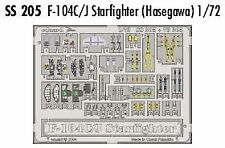 EDuard 1/72 F-104C/J Starfighter PRE-PAINTED IN COLOUR! # SS205
