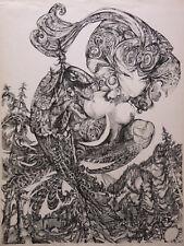Luc SIMON (1924-2011) Lithographie Epreuve d'Artiste Dédicacé 1969 Jacques Simon