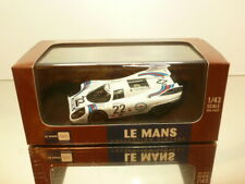 IXO PORSCHE 917K #22 LM1971 MARKO + v. LENNEP - MARTINI 1:43 - EXCELLENT IN BOX